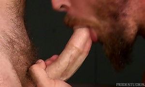 Jay is a champion when it comes to riding Dustin`s big cock,...