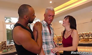 The Bull loves training straight men how to suck cock and ta...