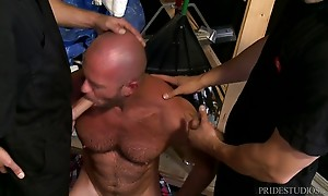 They all join in for some steamy three way action swapping s...