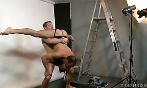 Dylan fucks them both in a few different positions testing o...