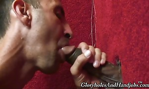 My buddies told me about this dirty place where hung black c...