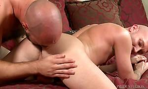 Tritt is happy to help his boyfriend and after he shaves the...