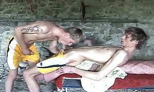 Two twinks in hot action