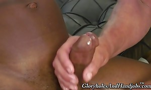 I`m big, black, and I`m packing a foot of black cock in my b...