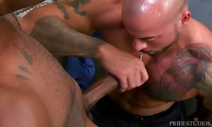 Sean looks up and Osiris kisses him which shocks Sean but on...