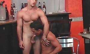 Ruy Lopez and Simao Fogaca enjoy hot oral foreplay.