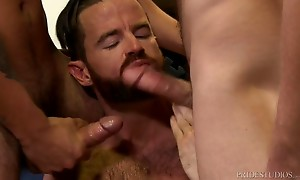Chandler and Cesar are getting ready to move and they are cl...