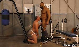 Jacob has always noticed Ray`s immense package, even when he...
