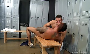 Cris tells him he wants a firmer ass and Rob grabs it and te...