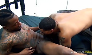 Rio has become a vet around the Ebony studios, and here we g...